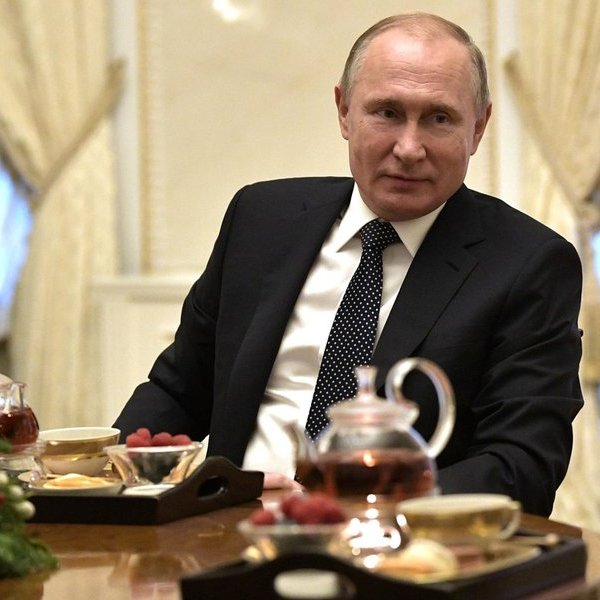 رئیس جمهور پوتین و جشن های سال نو در خارج از خانه