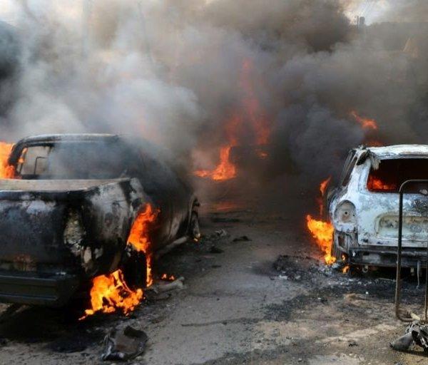 انفجارهای مرموز و درگیری های وحشیانه دستان ترکی ها در سوریه است