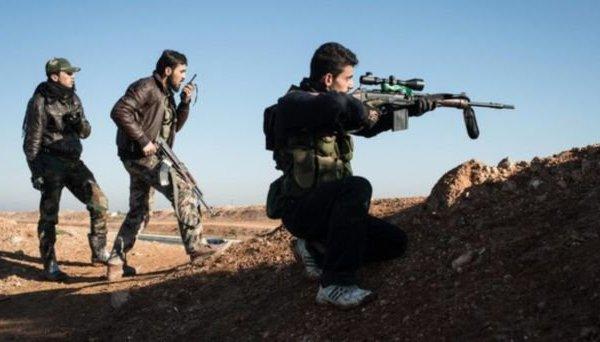 جرات حمله به سربازان سوریه ، شورشیان بدبخت در تنش فرو می روند