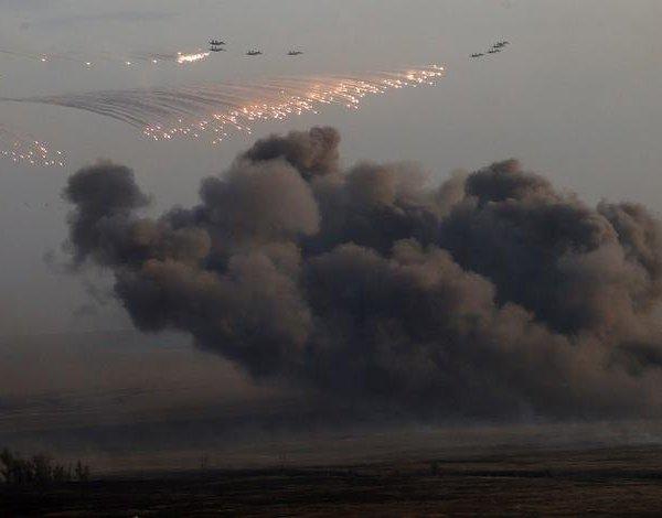 حملات هوایی روسیه ، صدها سرباز به جنگ می روند ، شورشیان زندگی خود را خسته می کنند